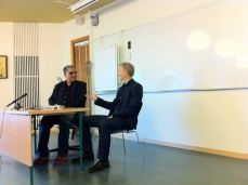 Deepak Chopra with Christer Perfjell