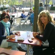 Isabel con Lorna